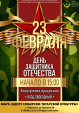 Концертная программа, посвященная Дню защитника Отечества